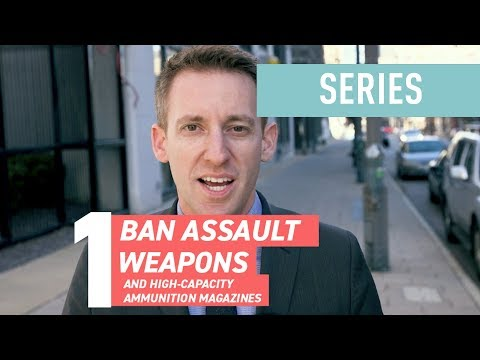 How to Reduce Gun Violence in America: Ban Assault Weapons