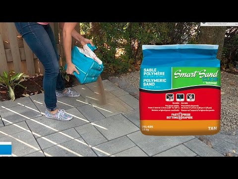 How to install SmartSand Polymeric Sand from Techniseal
