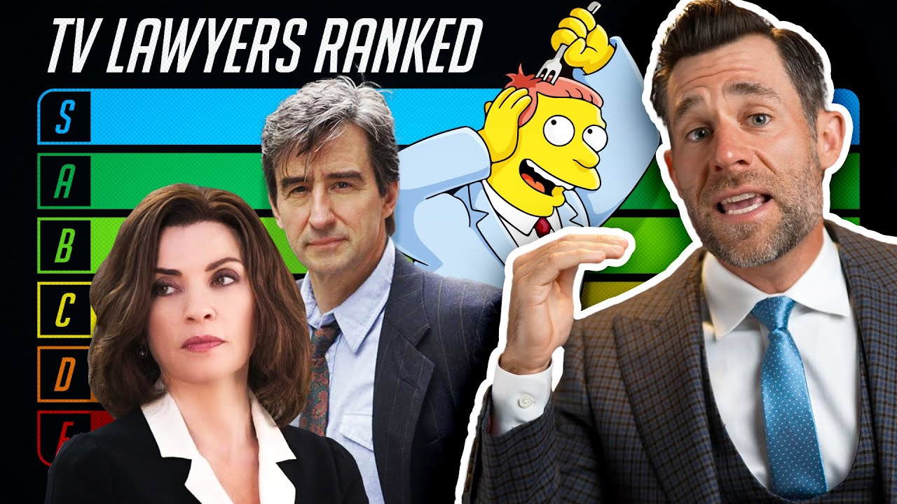 Ranking All TV Lawyers ft. TierZoo