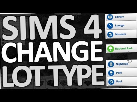SIMS 4 - How to change Lot Type