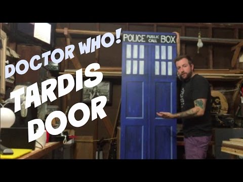 JWF-DOCTOR WHO TARDIS DOOR!!!