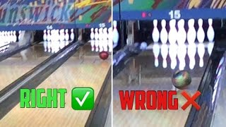 How To Curve A Bowling Ball The Right Way!