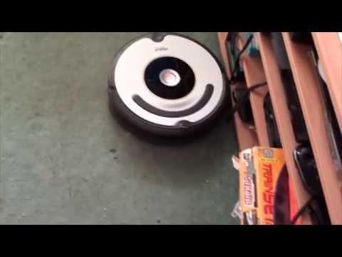 iRobot Roomba 620 тестирование в режиме CLEAN
