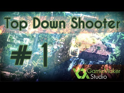 Game Maker Top Down Shooter Tutorial - Part 1
