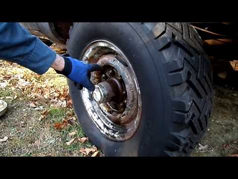 How To Remove Stuck Rusty Wheels