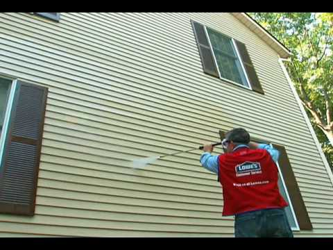How To Power Wash Your House