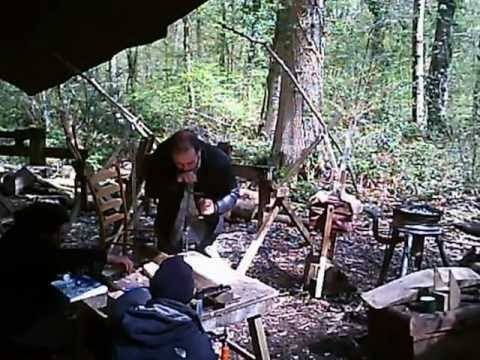 Making a Welsh Stick Chair (aka Windsor)  at Spinney Hollow