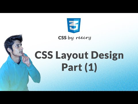 How to Make Website Layout Using HTML/CSS (Part - 1) in Hindi | Learn CSS in Hindi