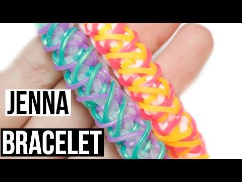 Jenna Bracelet | Rainbow Loom Tutorial | One Loom
