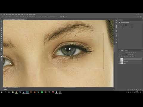 Adobe Photoshop: how to make eyes bigger in photoshop