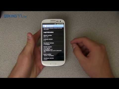 How to Install Android 4.1.2 MC3/MD4 on Sprint Samsung Galaxy S3