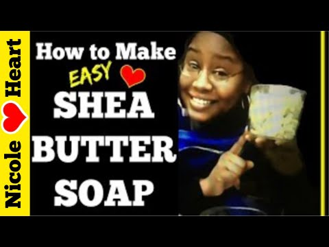 Shea Butter Soap | Natural Soap by Nicole Heart