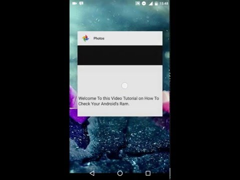 How To Check The Ram of Any Android Device - Quick and Easy 2016