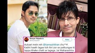 Aukaat men reh ch*** - Shreyas Talpade threatens KRK