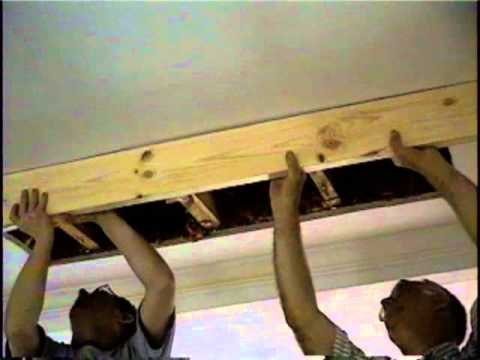 Attic Stairs how to install part 1
