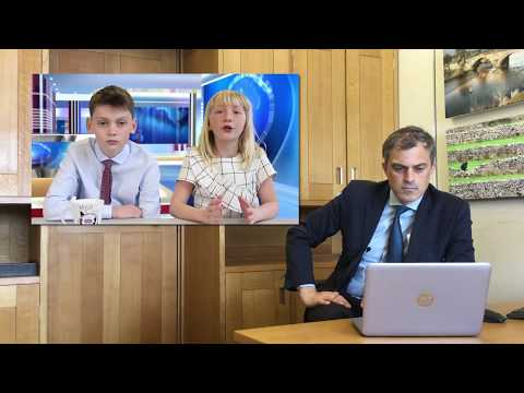 Pupil Parliament: Julian Smith MP reacts to Hellifield Primary School, Skipton