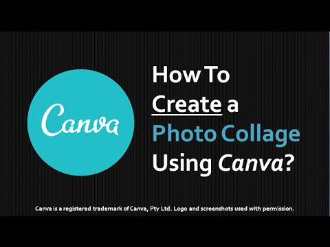 How to Create Photo Collage Using Canva