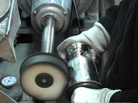 The makings of a Pewter Goblet...