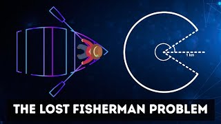 The Lost Fisherman Problem | What is the most efficient way back to shore?