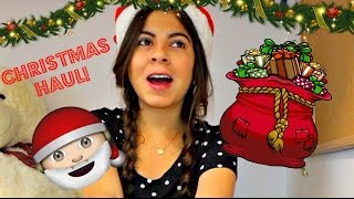 Christmas Haul + Gift Guide 2016