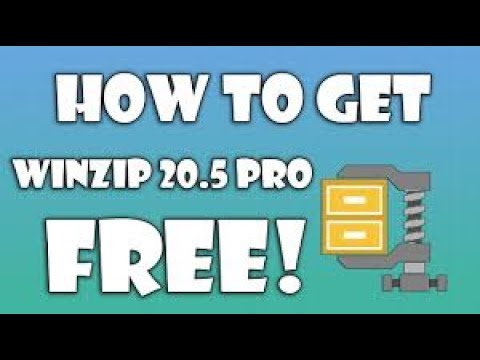How To Download & Install Free Winzip For Windows 7,8,10 - Compress Extract Files  by GET SMART