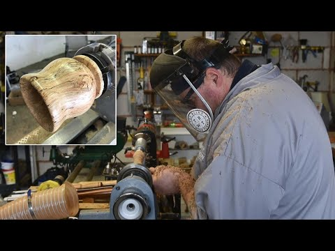 Blind Father Learns Woodworking Craft to Make Vampire Stake