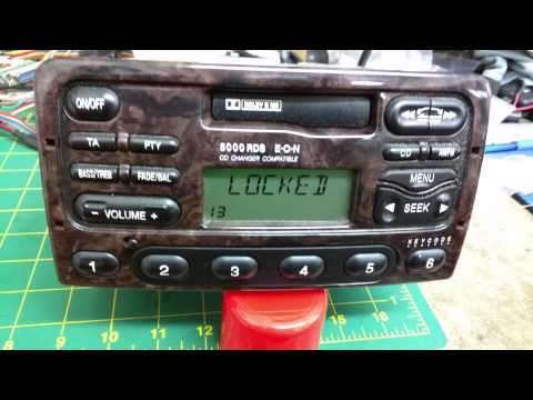 Ford radio LOCK 13 reset by Autotechnix.