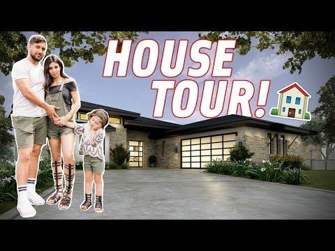 OUR LONG AWAITED HOUSE TOUR!!!