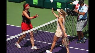 2018 Miami Quarterfinals | Jelena Ostapenko vs. Elina Svitolina | WTA Highlights