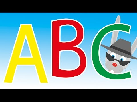 Alphabet Song with Sneaky the Rabbit    build vocabulary, learn your ABCs