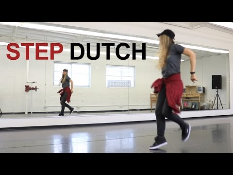 Hip hop dance tutorial for beginners step by step choreography - STEP DUTCH
