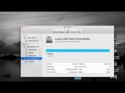How to Format USB Flash Drive for Xbox in El Capitan OS X Mac