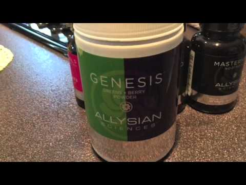 Allysian Sciences Genesis Greens Berry Powder Review