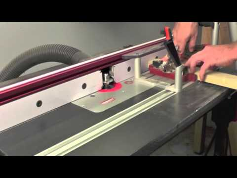 Infinity Cutting Tools - Making Divided Light Cabinet Doors
