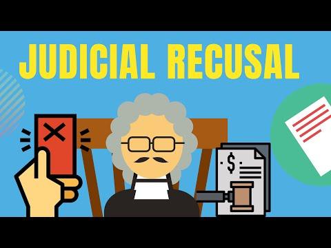 Judges Recusal Explained - Nemo Judex in sua causa | Lex Animata