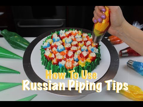 Russian Frosting Tip Tutorial | CHELSWEETS