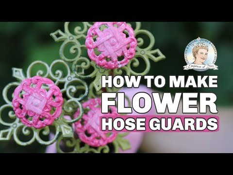 DIY Thrifty Flower Hose Guards | Overview