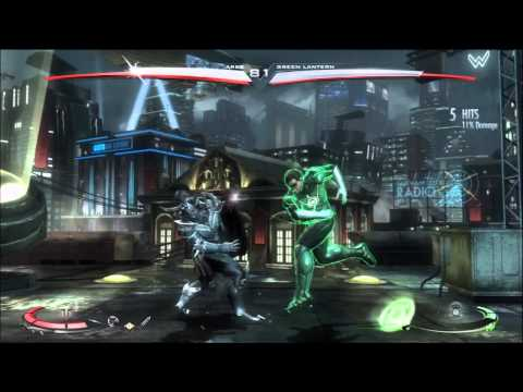 Injustice Gods Among Us Ares vs Green Lantern