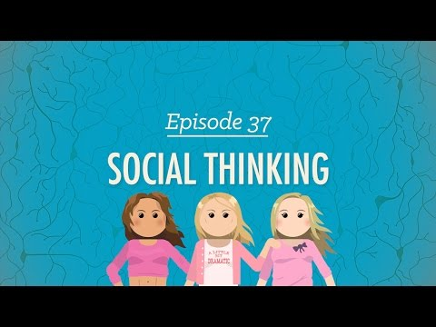 Social Thinking: Crash Course Psychology #37