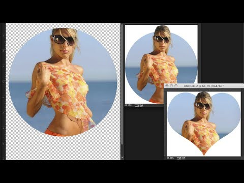 Crop in Advanced Shapes in Adobe Photoshop