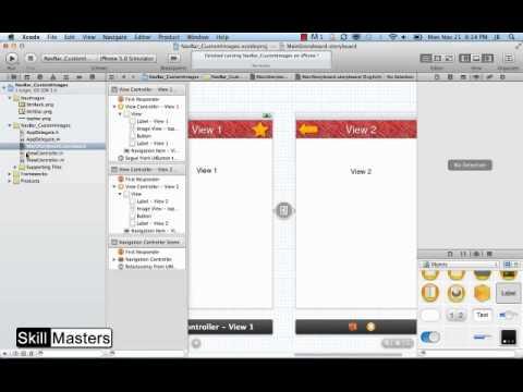 Xcode Nav Bar Tutorial 3: Using Custom Images