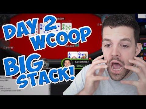 HUGE DAY 2 WCOOP STACK?!