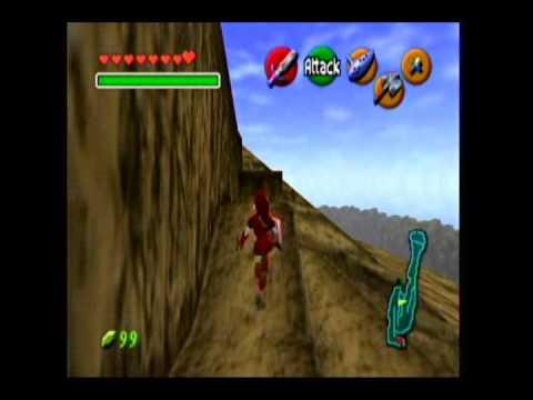 The Legend of Zelda Ocarina of Time - Side-Quest - Biggoron's Sword, Scarecrow's Song.wmv