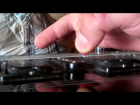 How to do a PINCH HARMONIC!