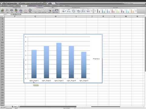 How to create bar chart with error bars (single variable)