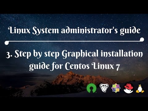 3. Step by step Graphical installation guide for Centos Linux 7