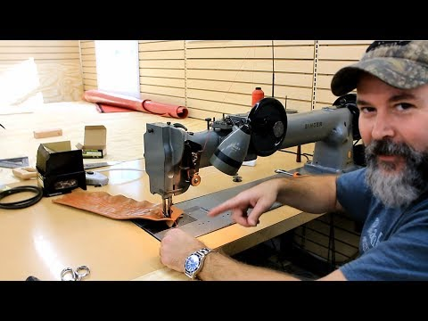 Me, Trying to Sew, at Manns Restoration