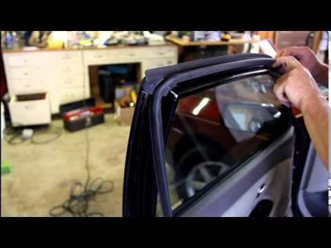 Replacing Toyota Sedan Door Seals