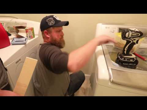 Laundry Room Built-Ins | PART 1