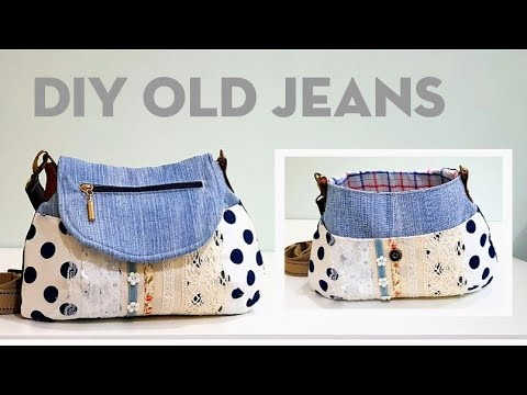 Diy old jeans into beautiful bag | Bag tutorial ❤❤